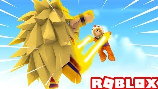 BATTLE AGAINST SUPER SAIYAN 3 in ROBLOX (Dragon Ball Z End Stand in Roblox) ‹ Chicken ›