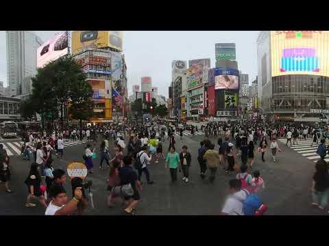 Дмитрий Комаров показал жизнь японского мегаполиса в формате 360°