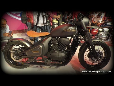 2018 Jawa Perak - Factory Custom Bobber (First Look)