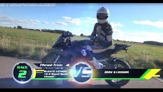 فيديو| دراجة بي ام دبليو تنهى أسطورة أسرع سيارة على كوكب الارض