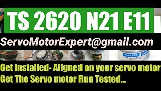 TS2620N21E11 Parker ACM2N Servo motor Repair India +UAE Dubai Tamagawa Align Adjust Install