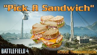 """Pick A Sandwich"" 