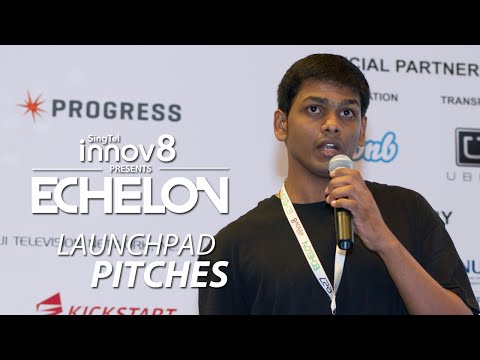 Hoverr (India) Pitching at Echelon 2014 Top 10 Launchpad