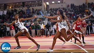 Women's 4x400 - 2019 NCAA Indoor Track and Field Championship