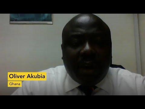 Testimonial: Oliver Akubia, Ghana