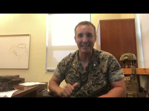 Marine commander Stuart Scheller calls out military leaders for Afghanistan Withdrawal