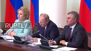 'Like chicken scratch' - Putin struggles to decipher own handwriting