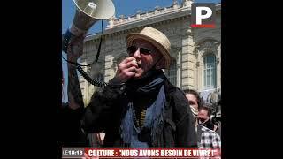 """Manifestation pour la culture à Marseille : """"nous avons besoin de vivre !"""""""