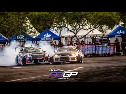 Achilles Radial - 2015 Asian Drifting GP - Jakarta  - Saito, Nishida, Gray, Whyte, Dio and more!