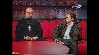 Децл и отец Иоанн Охлобыстин на программе 'Признаки жизни' РЕН ТВ
