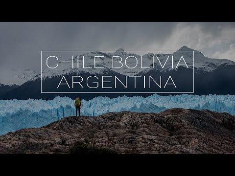Chile |  Bolivia | Argentina | South America travel 2018 | Drone | Daleko od domu