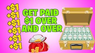 Get Paid $1 Over And Over Again (Earn Paypal Money) Available Worldwide !