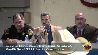 Sheriff Bruce Haney, Trinity County CA