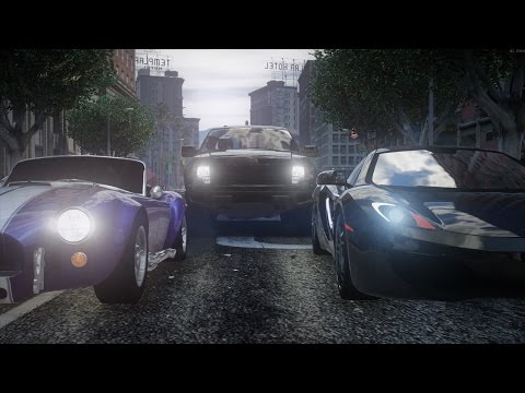 GTA V - Need for Speed Live Action Trailer