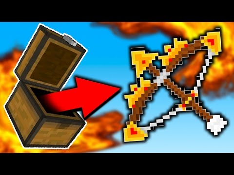 POWER 10 GOD BOW!! (Minecraft SKYWARS)