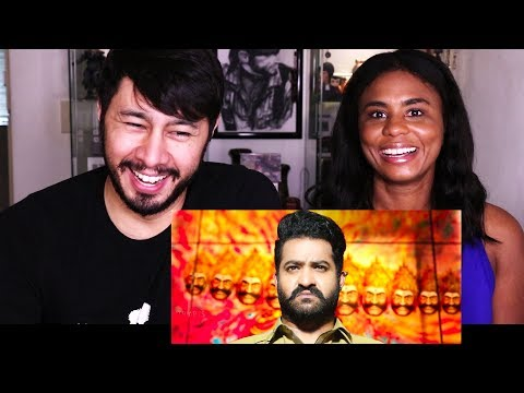 JAI LAVA KUSA | Junior M.T.R | Telugu | Trailer Reaction w/ Cortney!