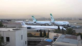 Morning at Tehran Mehrabad Airport