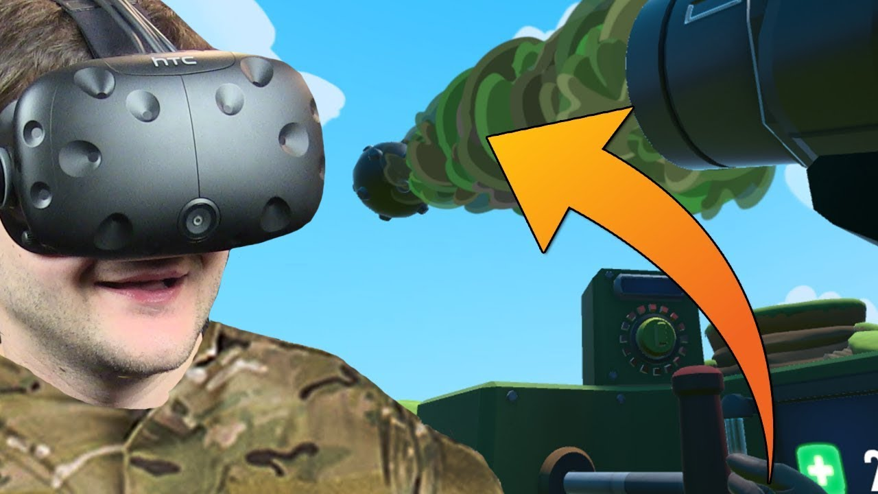 WALKA NA WIELKIE ARMATY – Mortars VR (HTC VIVE VR)