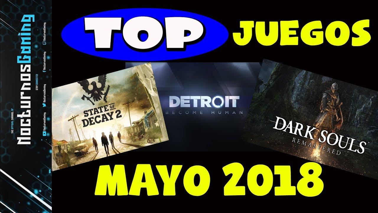 Top Juegos Mayo 2018 Pc Xbox One Playstation 4 Y Nintendo