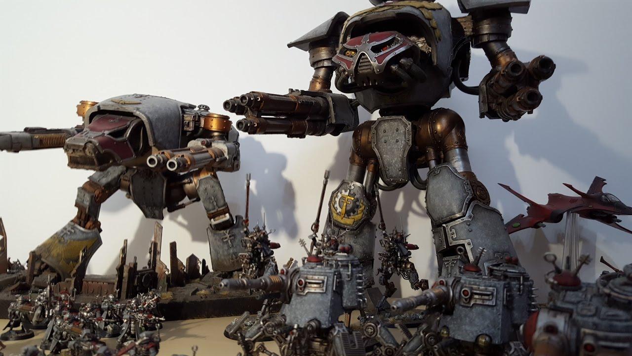 Warhammer 40k Space Marines: APOCALYPSE; Eldar Vs Space Marines And Admech; Warhammer