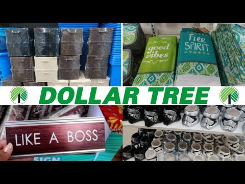DOLLAR TREE * NEW FINDS / COME WITH ME  5-23-19
