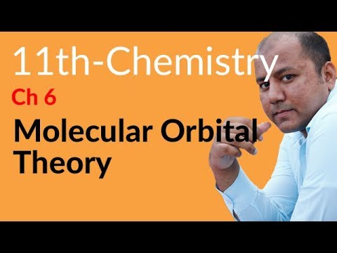 Topic 6.4.6 Molecular Orbital Theory - Chemistry Chapter 6 Chemical Bonding - FSC Part 1 11th Class