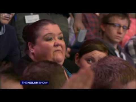 Nolan Show - The Loyalist Flag woman