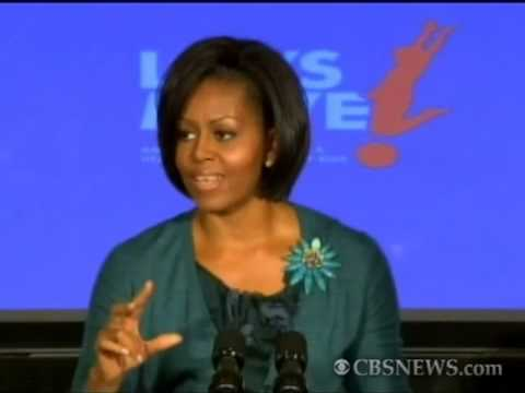 First Lady Michelle Obama Child Health insurance and Weight problems Quotes
