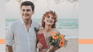 Gambar cover DÜĞÜN SÜRECİMİZ | teklif, nişan, kumsalda nikah, düğün