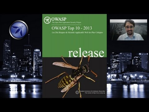OWASP Montréal - 12 septembre - OWASP Top 10 2013