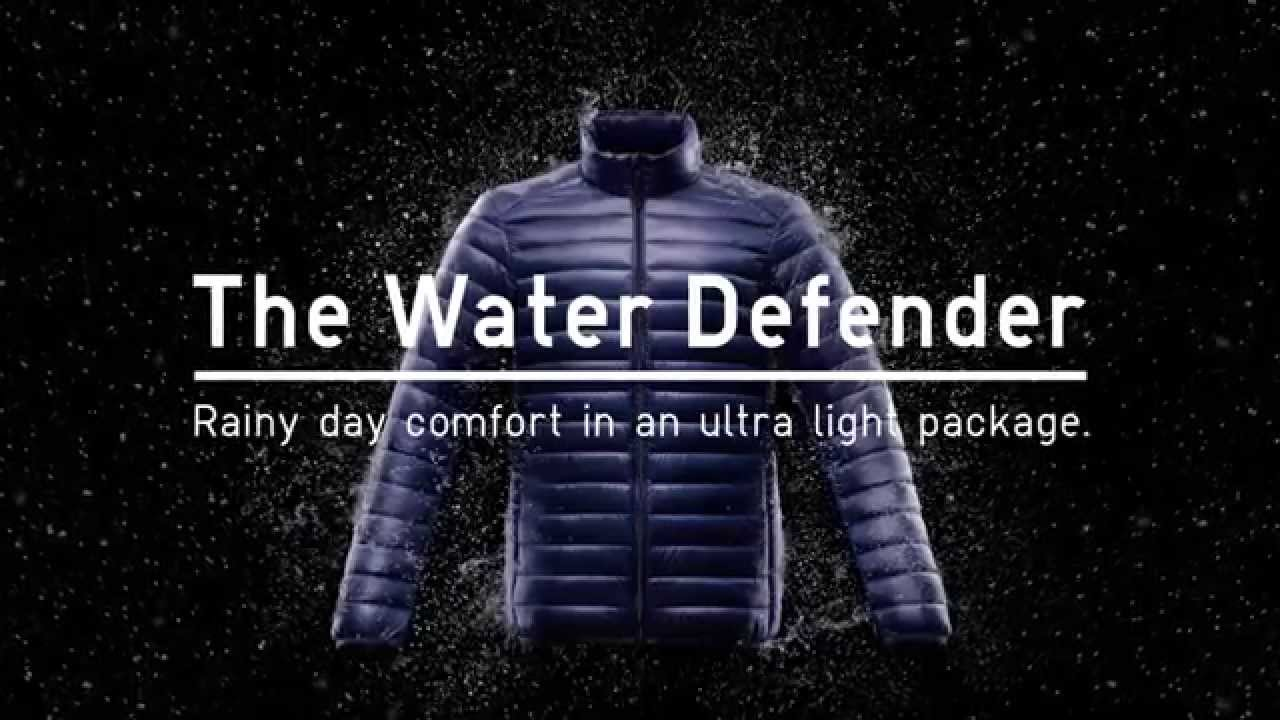Uniqlo Ultra Light Down The Water Defender Youtube