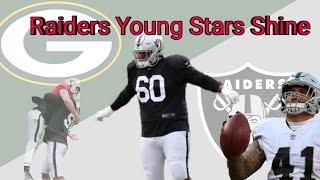 Oakland Raiders Vs. Packers | Most Impressive Players Recap