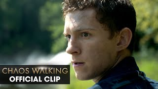 """Chaos Walking (2021 Movie) Official Clip """"I Can't Swim"""" – Tom Holland, Daisy Ridley"""