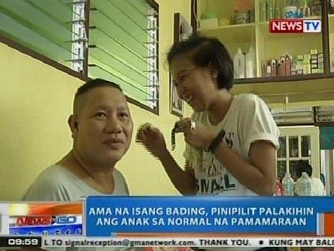 NTG: Ama na isang bading, pinipilit palakihin ang anak sa normal na pamamaraan
