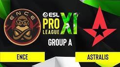 CS:GO - ENCE vs. Astralis [Dust2] Map 1 - ESL Pro League Season 11 - Group A