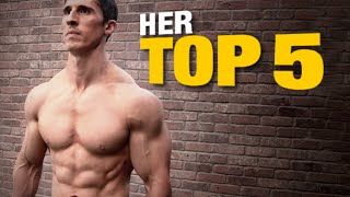 Top 10 Exercises - 5 Best Exercises for Men (ACCORDING TO WOMEN!)