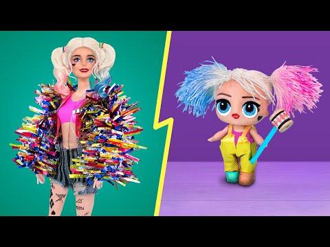 Одежда, аксессуары и макияж для Барби и ЛОЛ – 10 идей!