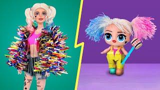 Одежда аксессуары и макияж для Барби и Лол 10 идей