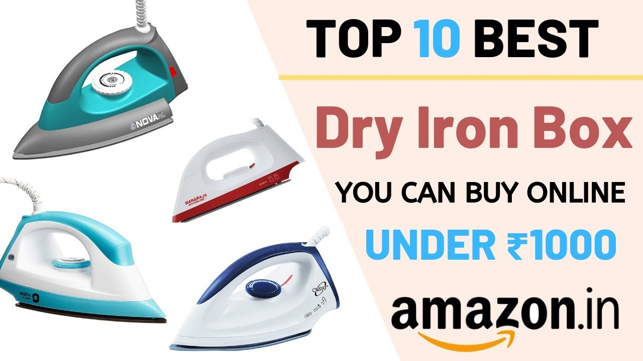 Best Selling Dry Iron Box Under 1000 On Amazon India 2019 I Best Budget  Electric Dry Iron Review1