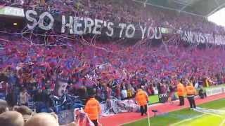 Crystal Palace fans v West Ham Utd 23 Aug