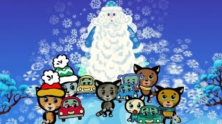 Песенки про машинки: Три котенка - Машинка Деда Мо...