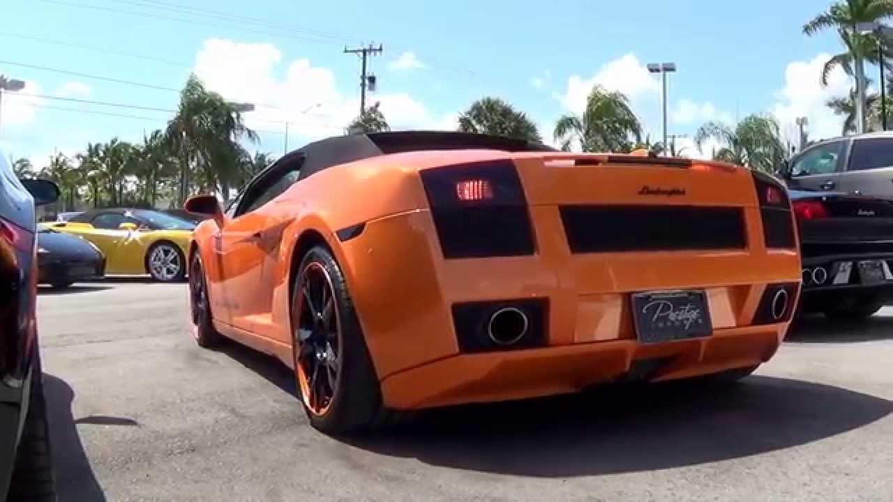 Lamborghini Gallardo Exhaust Revs Sound Youtube