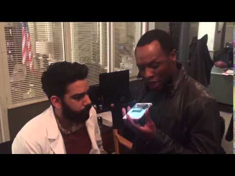 Malcolm Goodwin on Twitter: Rapping while not acting on set today izombie