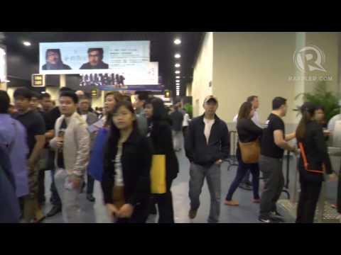 Fans flock Cotai Arena for Pacquiao vs Rios