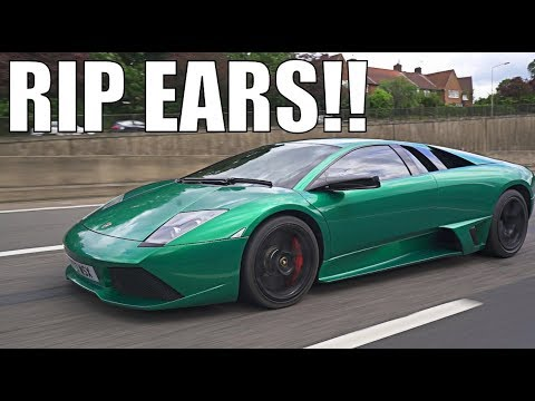 FRIENDS REACT TO MY STRAIGHT PIPED LAMBO!!