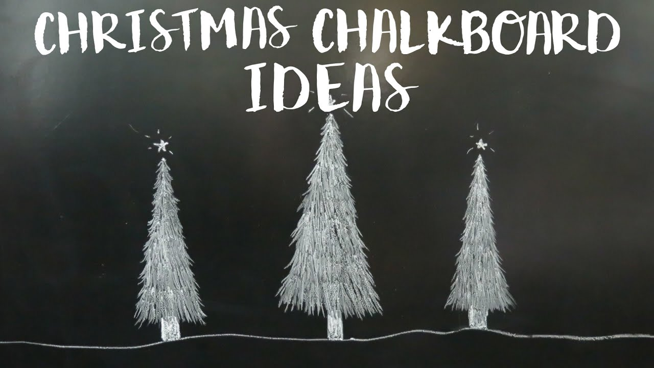 Christmas Chalkboard Art.Christmas Chalkboard Ideas Diy