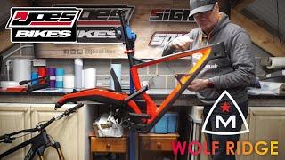 Joe's Bikes - Marin Wolf Ridge Pro build