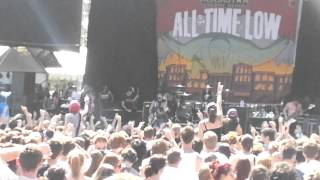 All Time Low- Dear maria soundwave perth 2013