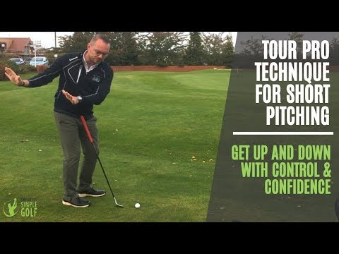 Golf Pitching Tips: Tour Pro Technique For Short Pitching Around The Greens