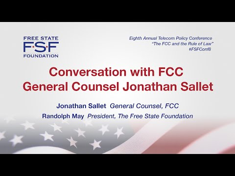Conversation with FCC General Counsel Jonathan Sallet